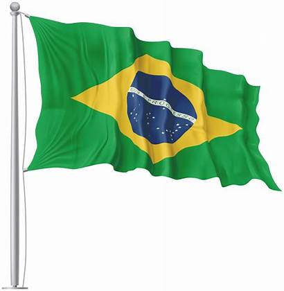Flag Brazil Waving Transparent India France Ivory