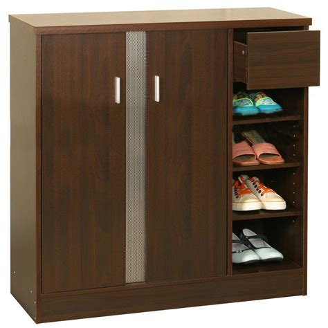 Shoes Cupboard by Simple Wooden Shoe Rack Cupboard Design Ideas Jpg