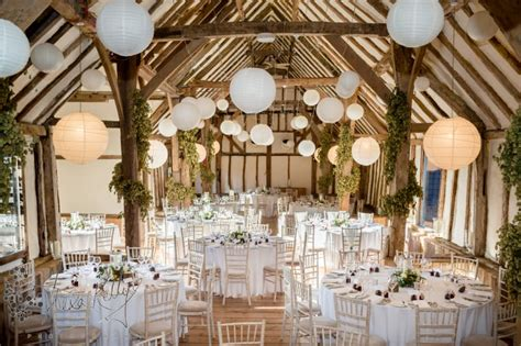 38 beautiful barn wedding venues in south east england