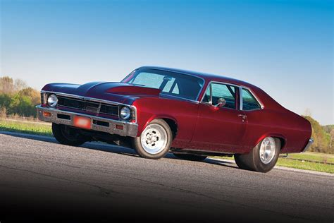 The Chevy Nova Through Years
