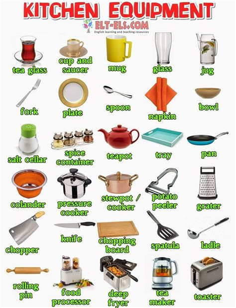 kitchen tools and equipment 1000 images about kitchen vocabulary on esl