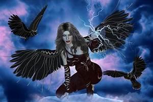 Dark Fairy Fantasy Art   Dark fairy by ~adriediana on ...