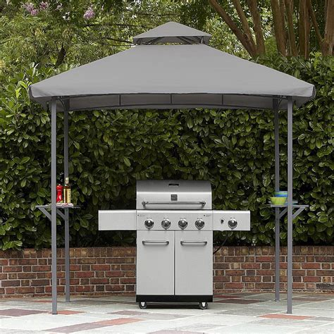 grill gazebo canopy replacement canopy for garden oasis 5 x 8 grill shelter