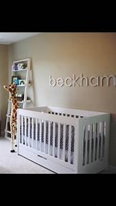 Nursery wall letters decor wooden