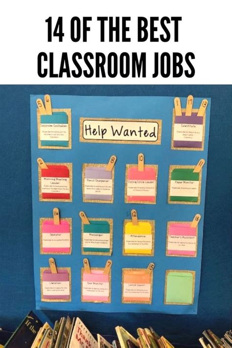 classroom jobs continually learning