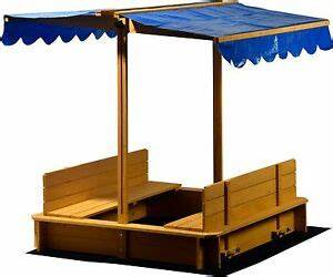 Sandkasten Mit Sitzbank : holz sandkasten mit dach abdeckung sandkiste sitzbank deckel gro xl viereckig ebay ~ Frokenaadalensverden.com Haus und Dekorationen