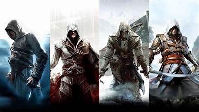 Creed Wallpapers Screen Assassin Ezio Altair Desktop