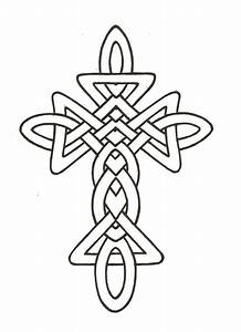 Celtic Cross Line Drawing - ClipArt Best - ClipArt Best