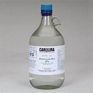 Hydrochloric Acid  12 1 M  In Plastic