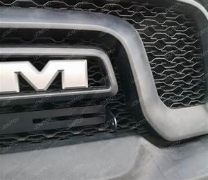 120w Led Light Bar W   Mounting Bracket  Wire For Dodge Ram