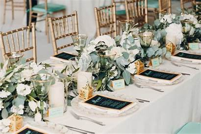 Favors Decor Traditional Reception Table Setting Cards