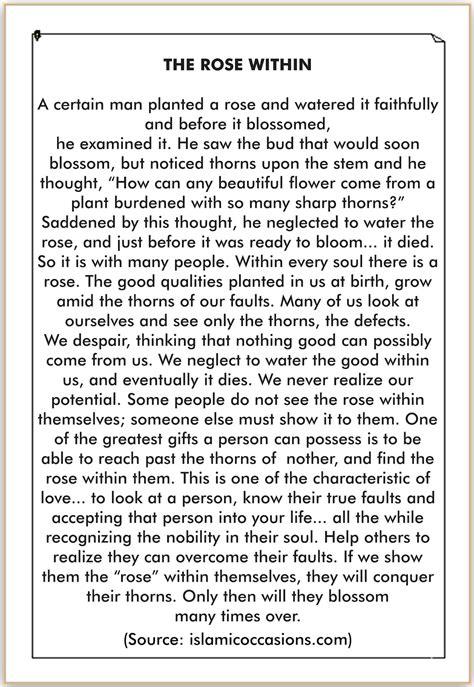 rose  karangan cerita bahasa inggris tentang bunga