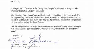 9-Year-Old Applies To NASA, Gets A Different Job Offer ...