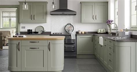 shaker kitchen range  gallery fitted kitchens dudley
