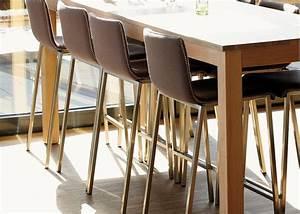 Chaise De Bar Haute : chaise de bar en acier et laine ultra design kuadra pedrali chez ksl living ~ Teatrodelosmanantiales.com Idées de Décoration