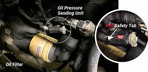 How To Replace A Jeep Cherokee Xj Oil Pressure Sending Unit