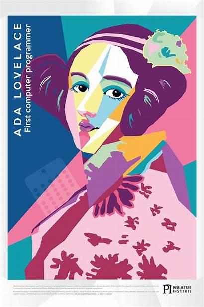 Posters Ada Lovelace Pop Curie Marie Science