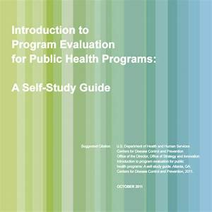 Program Evaluation Guide - Cover