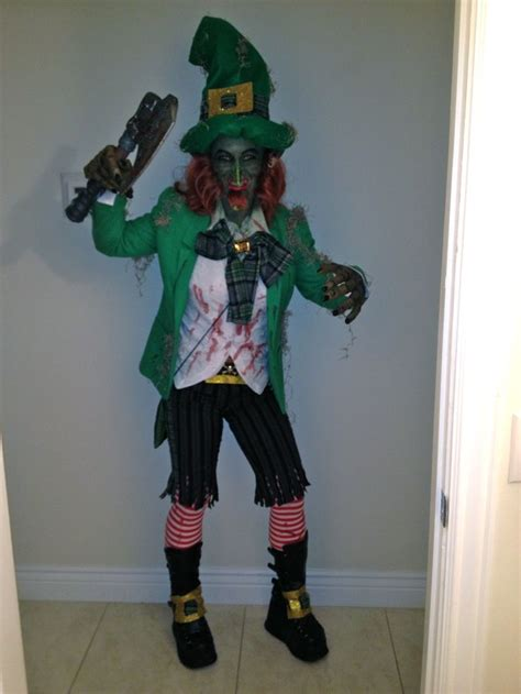 scary halloween costume halloween costumes leprechaun