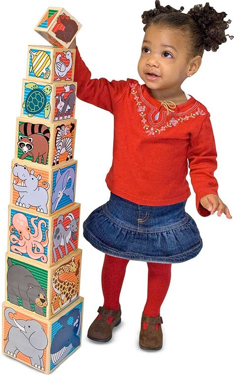 wooden animal nesting blocks  toyworks