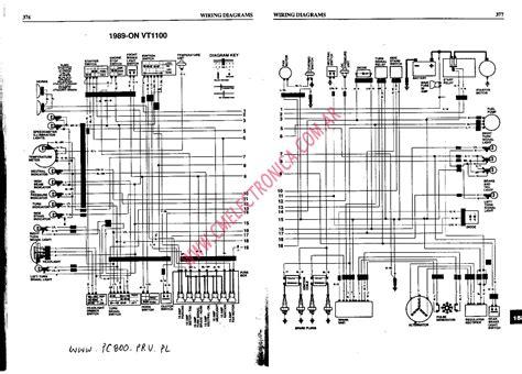 1986 Honda Vt1100 Wiring Diagram diagrama honda vt1100c