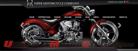 Viper Motorcycle Company Revamps Website