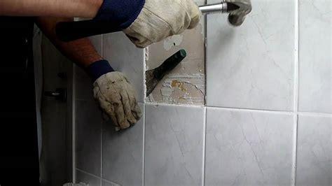 remove floor tiles  breaking  ideas