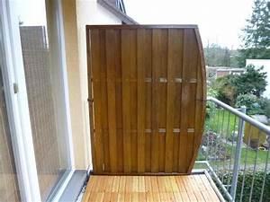 Balkonverkleidung Aus Holz : pin sichtschutz f r den balkon varianten aus holz pflanzen ~ Lizthompson.info Haus und Dekorationen