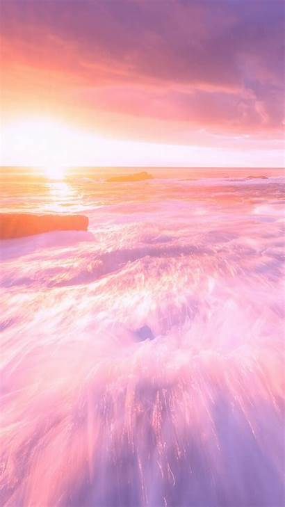 Backgrounds Pastel Heart Purple Wallpapers Soft Sky