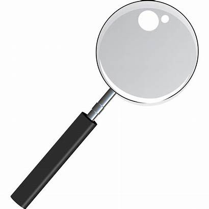 Magnifying Glass Transparent Clipart Magnifier Handle Square