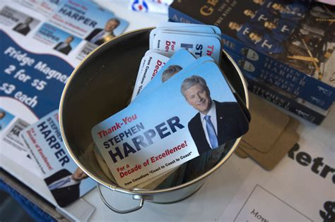 harper projects optimism  conservative party
