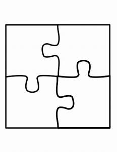 puzzle template four piece jigsaw puzzle template With jigsaw puzzle template for word