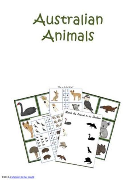 australian animals lapbook sonlight eastern hemisphere suppliment ideas pinterest