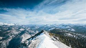 Wallpaper, Yosemite, 5k, 4k, Wallpaper, 8k, Winter, Snow