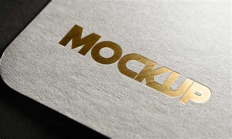Photorealistic logo/text mockup template in adobe photoshop. 20+ Creative Gold Logo Mockup PSD Templates | Mockuptree