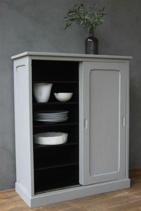 meuble cuisine vintage idée relooking cuisine meuble vintage peint en gris