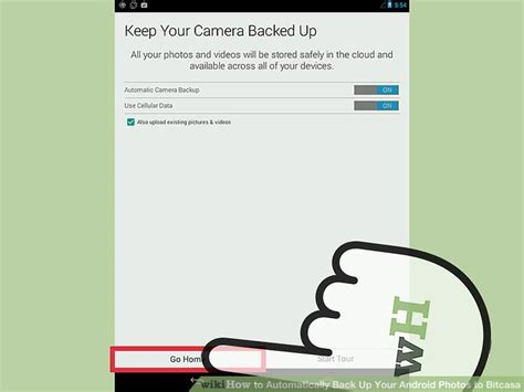 how to automatically back up your android to bitcasa