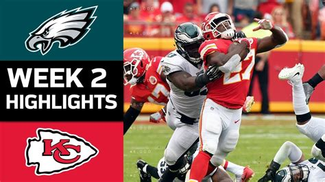 eagles  chiefs nfl week  game highlights youtube