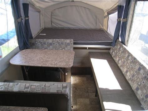 jeep tent inside tent trailer neutral interior cing pinterest