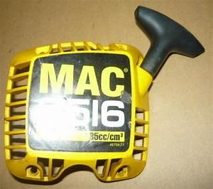 Mcculloch Mac 3516  35cc Chainsaw Starter Recoil Cover And