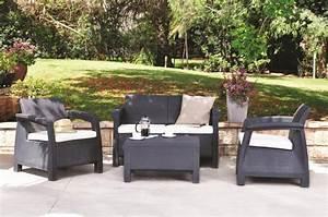 Salon De Jardin Keter : salon de jardin en r sine 100 propositions design pour l ~ Dailycaller-alerts.com Idées de Décoration