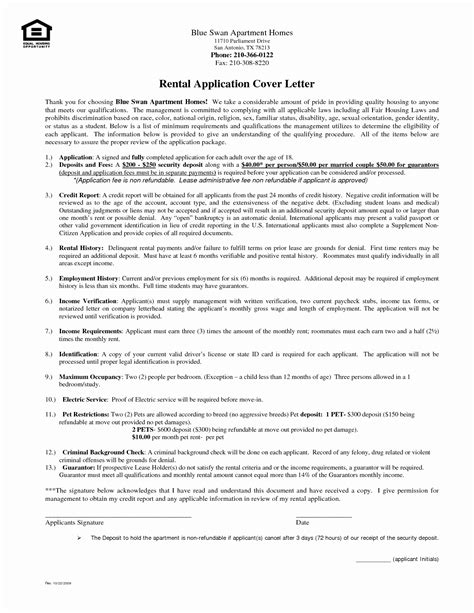 How To Write A Cover Letter For Rental Application by Inspirational How To Write A Cover Letter For A Rental