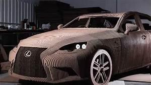 Ds Smith Cardboard Lexus Car