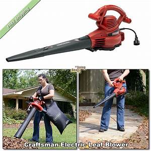 Craftsman Leaf Blower Electric Vac 12 Amp 2 Speed Yard