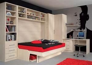 Lit 160x200 avec rangement integre 28 images lit avec for Tapis chambre enfant avec canapé lit top tip