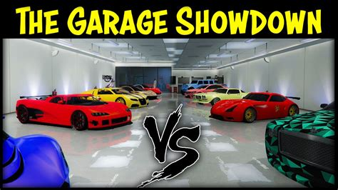 Gta 5 Online Garage Vs Garage Ep. 13! (best Cars