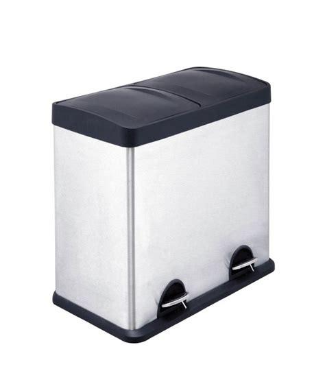 poubelle de porte cuisine poubelle de cuisine de tri à compartiments en inox