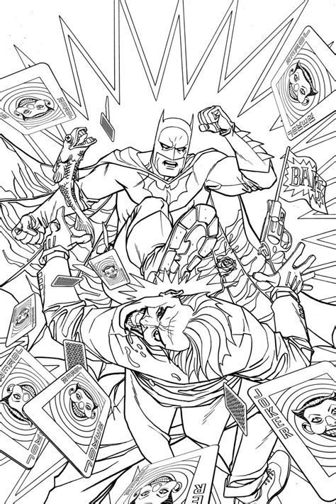 batman  adult coloring book variant cover  dave