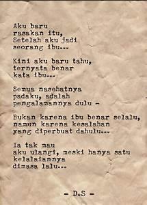 Puisi - Puisi Singkat - Puisi cinta - Ibu - Puisi tentang ...