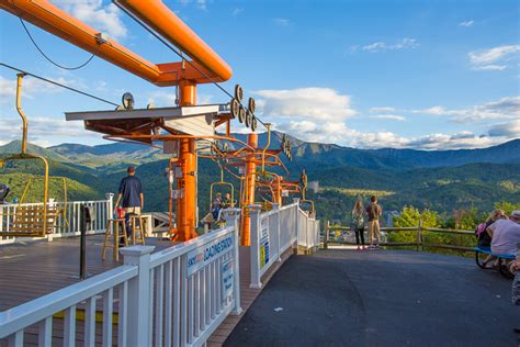 chair lift gatlinburg tn gatlinburg sky lift photos pricing information and review